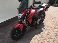 Honda CB500F motorcycle