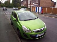 Selling our Vauxhall corsa 2013 1.3 ecoflex disel, no road tax for this car, just have a 36k done