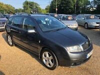 2007 SKODA FABIA ELEGANCE 1.9 TDI PD 100 ESTATE GREY
