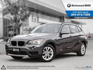 2014 BMW X1 xDrive28i Local One Owner!