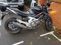 Suzuki Gladius Motorbike 650 - 2010