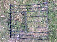 GARDEN GATE WROUGHT IRON