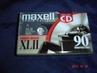 MAXELL XLII 90 HI BIAS SEALED BLANK TYPE II AUDIO CASSETTE TAPE
