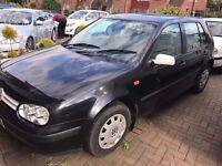 Volkswagen Golf SE 1999 5 Door 1.6 Black