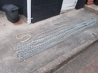 used galvanised anchor/mooring chain 8 and 10mm