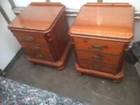 Pair of ducal pine bedside chests * free furniture delivery *