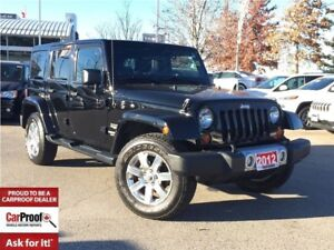 2012 Jeep WRANGLER UNLIMITED SAHARA**LEATHER**NAVIGATION**BLUETO
