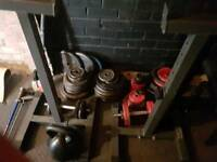 250kg gym weights set for sale