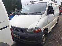 Toyota hiace - all Toyota's wanted (top price paid)