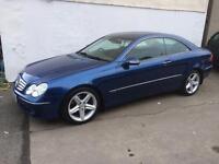 Mercedes clk270 cdi automatic,