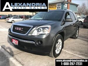 2011 GMC Acadia SLE1 safety accident free