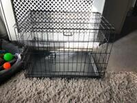 Small dog cage now £20