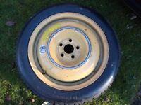 "16"" Bridgestone 135/80/16 Spare Wheel with tyre, PCD5x100 fit for Subaru, Toyota, VW, Seat, Skoda"