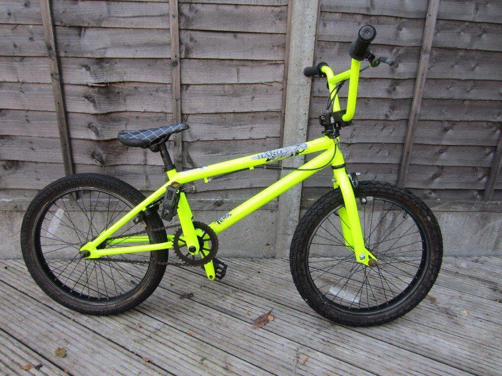 Yellow Haro BMX