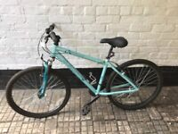 Ladies Apollo mountain bike with helmet and pump, very good condition, hardly used