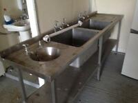 Large commercial sink