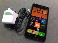 NOKIA LUMIA 1320 SIMFREE COMES WITH CHARGER AND THREE MONTHS WARRANY