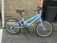 girls bicycle very good condition can be used for girls or boys