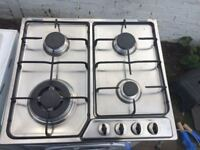 **CDA**4 RING**GAS HOB**STAINLESS STEEL**FULLY WORKING**COLLECTION\DELIVERY**NO OFFERS**