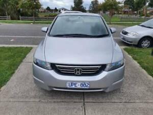 2005 Honda Odyssey Luxury 5 Sp Sequential Auto 4d Wagon