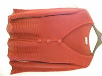 New Cardigan Red/Brown Colour - Size XXL