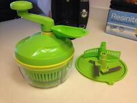 Authentic Tupperware Food Processor / Salad Spinner