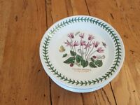 PORTMEIRION SMALL ROUND PLATES