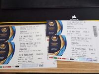 ICC Champions Trophy 2017 - 4 x ***GOLD*** Semi Final Tickets at Edgbaston -15 June 2017