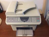 Laser printer and scanner black & white