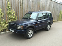 2003 53 - FACELIFT LAND ROVER DISCOVERY TD5 2.5 DIESEL AUTOMATIC 7 SEATER LONG M.O.T