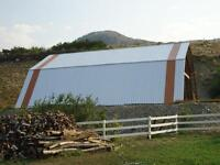 Heritage Building Materials - Rafters, Strapping, Metal Clad