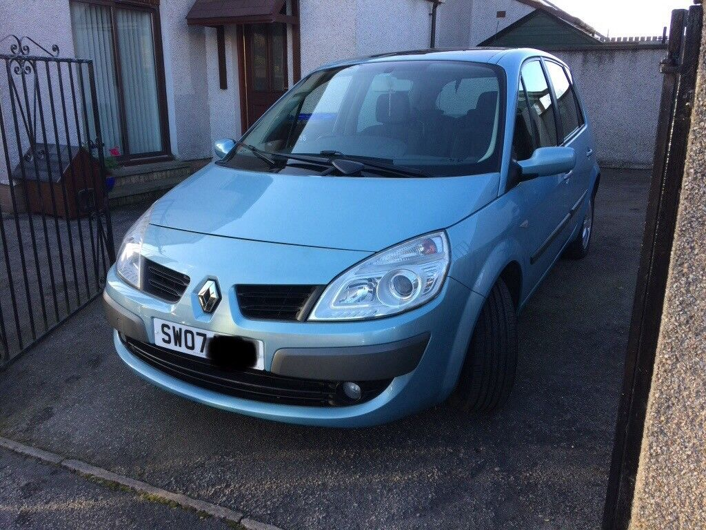 Renault scenic 1.5dci, low mileage, 2007, tidy car