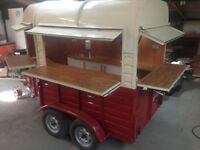 BESPOKE HORSE BOX CATERING TRAILER