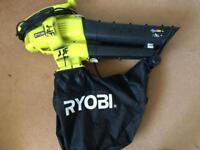 RYOBI ELECTRIC LEAF BLOWER/VACUUM