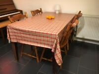 FREE Dining Table & Tablecloth