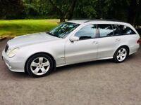 Mercedes E200 Komp 7 Seater Estate - volvo v70 audi a6 q7 bmw touring avant x5 jeep ford vw jeep kia