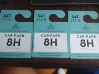 3 x Saturday Royal Ascot Parking Tickets £15 each