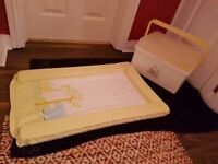 Mothercare Changing Mat and matching Bath Box In perfect condition