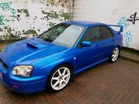 Subaru impreza wrx, 2003, 260bhp
