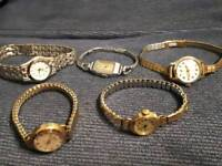 Various vintage watches