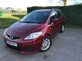 Mazda 5 TS2 Automatic 2009, 2.0 Red Automatic Petrol 107kW