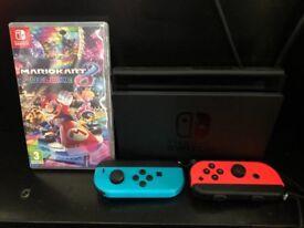 Brand new nintendo switch & Mario Kart