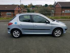 PART EXCHAMGE TO CLEAR 2004 PEUGEOT 206 1.6 PETROL 8 MONTH MOT MANUAL 5 SPEED