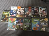 Large Sony psp 11 games bundle