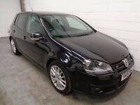 VOLKSWAGEN GOLF GT170 DIESEL , 2007/57 REG, ONLY 41000 MILES + HISTORY, YEARS MOT, FINANCE, WARRANTY