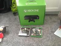 Xbox one 500gb with 2 games all the Leeds and control
