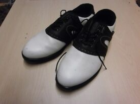 Black/White GOLF shoes