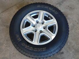 4 Ford Ranger wheels. 265/65/17