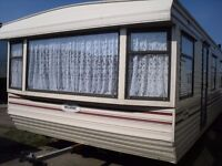 Willerby Leven 35x12 FREE DELIVERY double glazed central heating 2 bedrooms choice of over 50 static