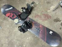 youth brand new sealed snowboard /bindings with free boots